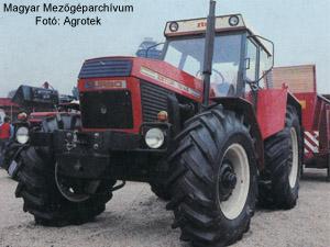 Zetor traktor tipusok